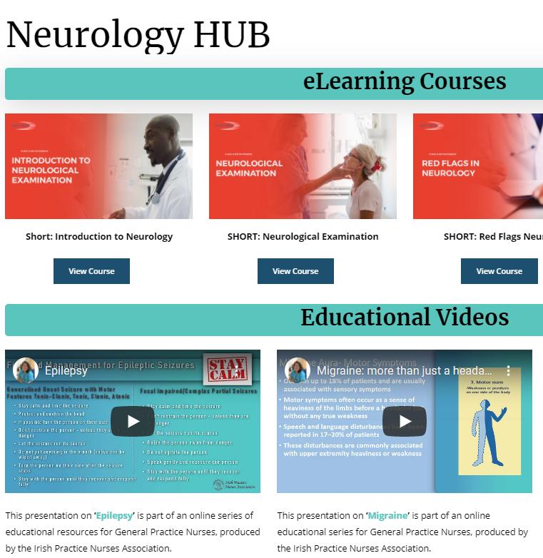 The Neurology HUB is now live!