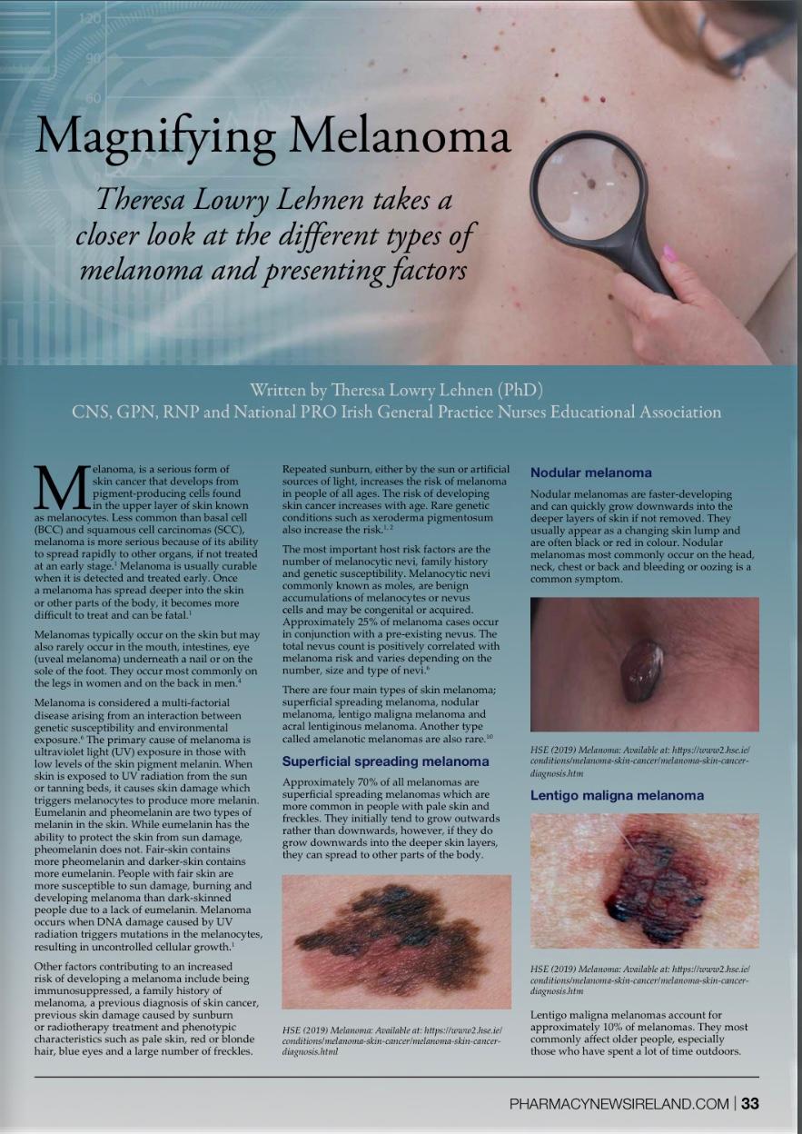 Magnifying Melanoma