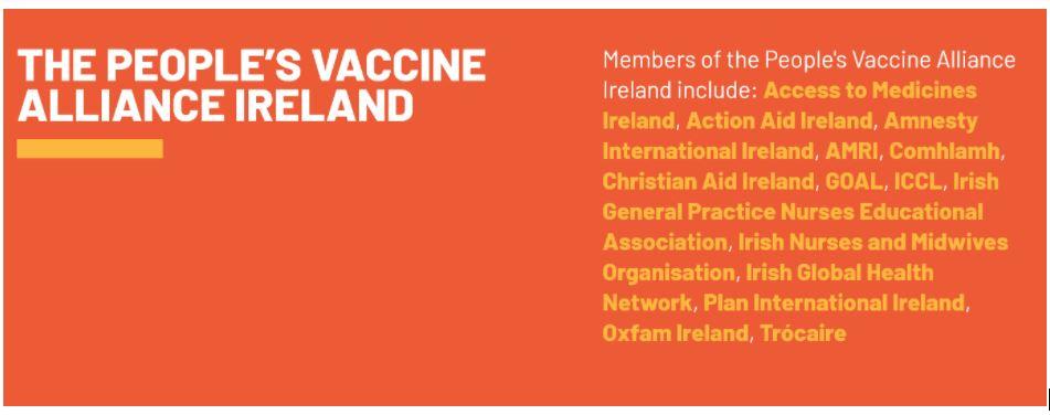 The People's Vaccine Alliance Ireland